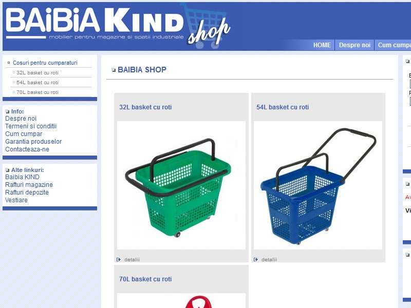 Magazin online shop.baibia.ro