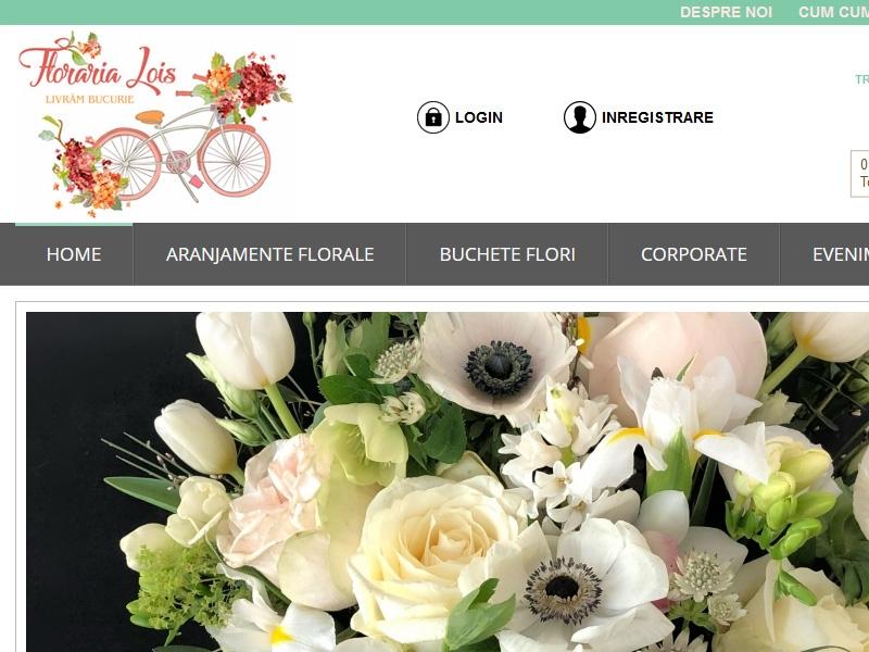 Magazin online florarialois.ro