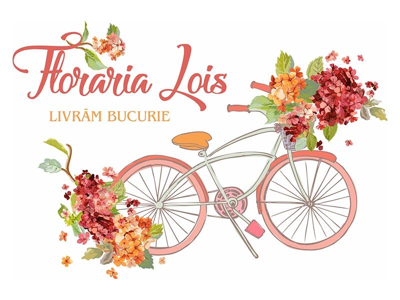 Creare Logo Floraria LOIS