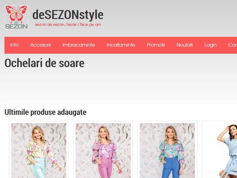 Magazin online desezonstyle.com