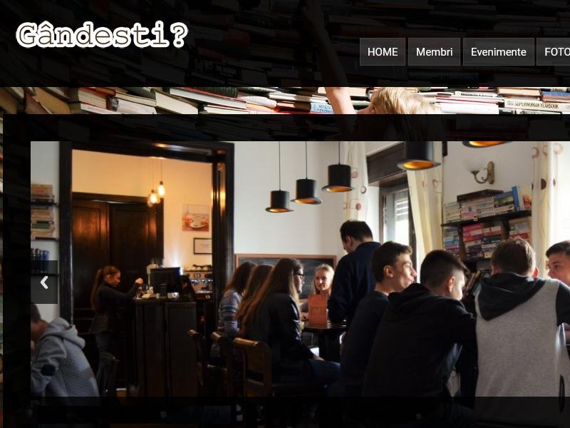 Website de prezentare Gandesti.ro