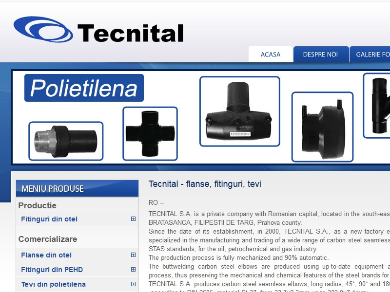 Catalog de prezentare tecnital.ro