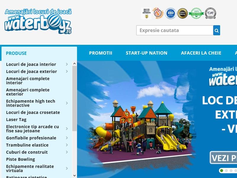 Catalog de prezentare waterboyz.ro